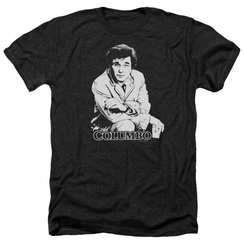 Image for Columbo Heather T-Shirt - Title