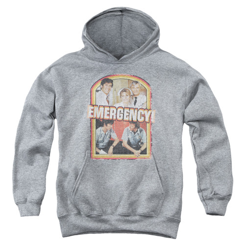 Image for Emergency Youth Hoodie - Retro Cast