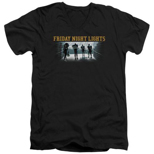 Image for Friday Night Lights T-Shirt - V Neck - Game Time