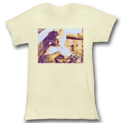 Image for James Dean Girls T-Shirt - Kicking Back