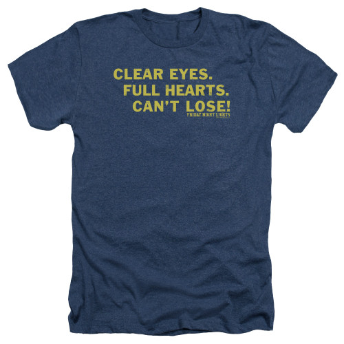 Image for Friday Night Lights Heather T-Shirt - Clear Eyes