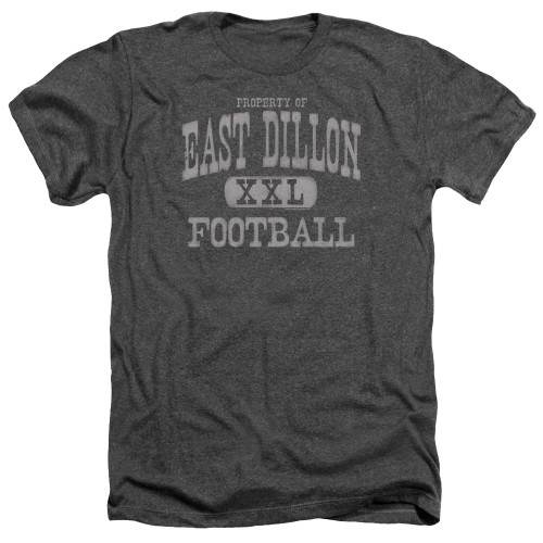Image for Friday Night Lights Heather T-Shirt - Property of East Dillon Football
