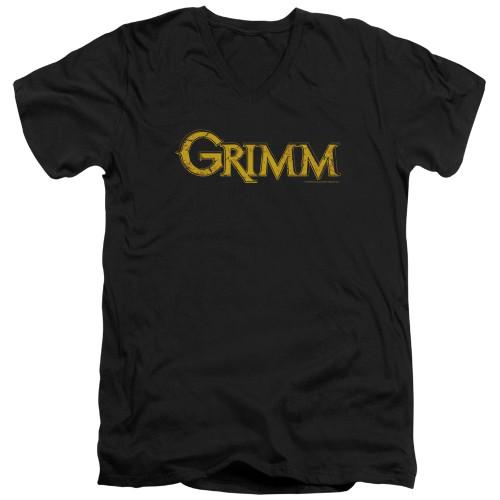 Image for Grimm T-Shirt - V Neck - Gold Logo