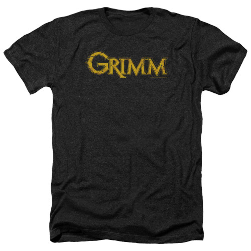 Image for Grimm Heather T-Shirt - Gold Logo