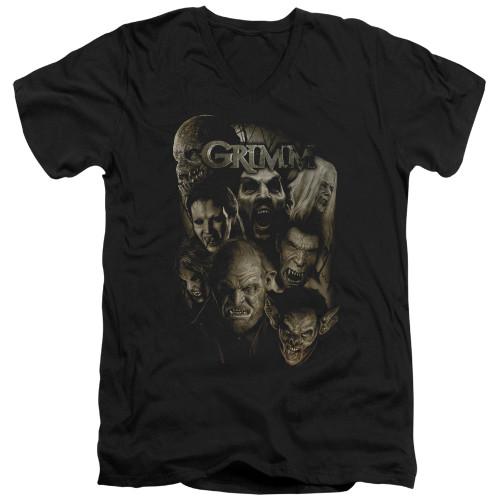 Image for Grimm T-Shirt - V Neck - Wesen