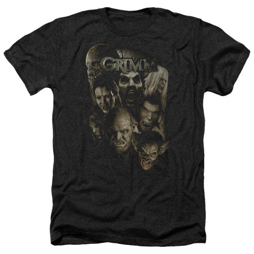 Image for Grimm Heather T-Shirt - Wesen