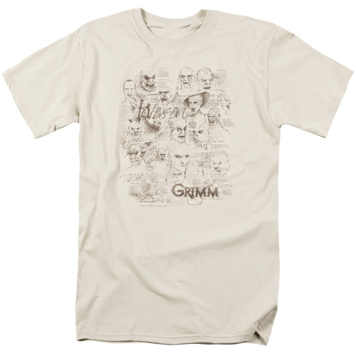 Image for Grimm T-Shirt - Wesen Sketches