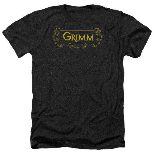 Image for Grimm Heather T-Shirt - Plaque Logo