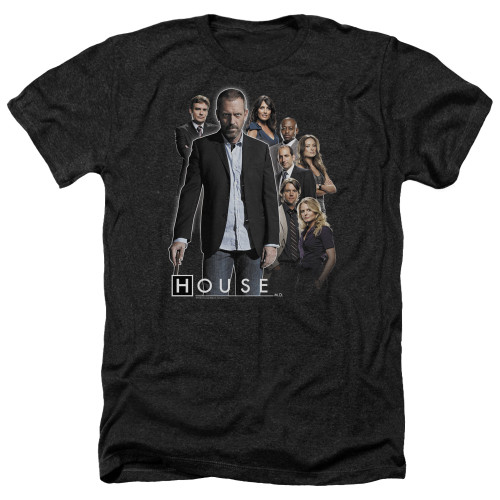 Image for House Heather T-Shirt - Crew
