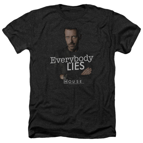 Image for House Heather T-Shirt - Everybody Lies