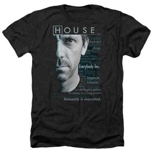 Image for House Heather T-Shirt - Houseisms