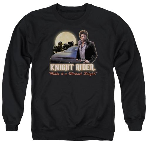 Image for Knight Rider Crewneck - Full Moon
