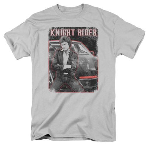 Image for Knight Rider T-Shirt - Knight and KITT