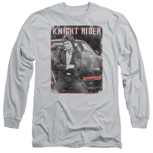 Image for Knight Rider Long Sleeve T-Shirt - Knight and KITT