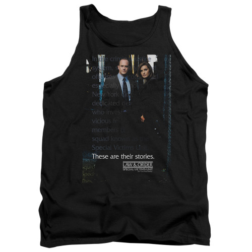 Image for Law and Order Tank Top - SVU