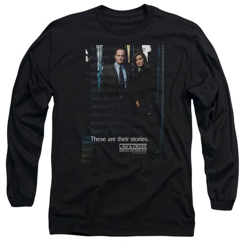 Image for Law and Order Long Sleeve T-Shirt - SVU