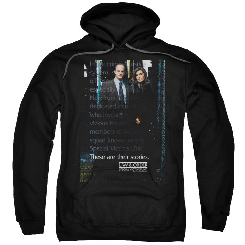Image for Law and Order Hoodie - SVU
