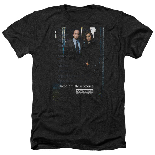 Image for Law and Order Heather T-Shirt - SVU