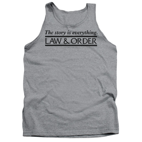 Image for Law and Order Tank Top - Story