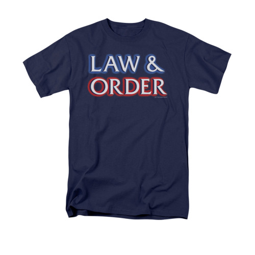 Image for Law and Order T-Shirt - Logo