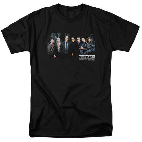 Image for Law and Order T-Shirt - SVU Cast
