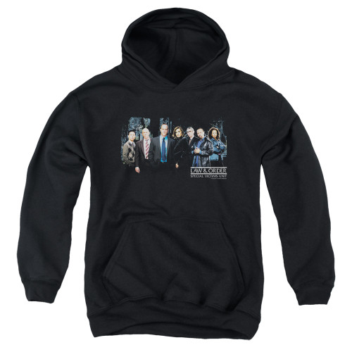 Image for Law and Order Youth Hoodie - SVU Cast