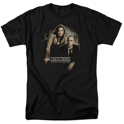 Image for Law and Order T-Shirt - SVU Helping Victims
