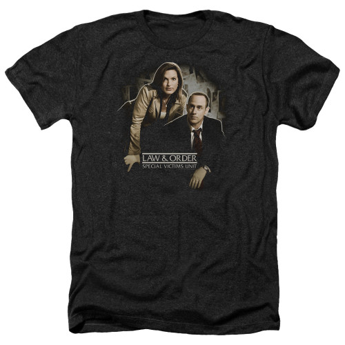 Image for Law and Order Heather T-Shirt - SVU Helping Victims