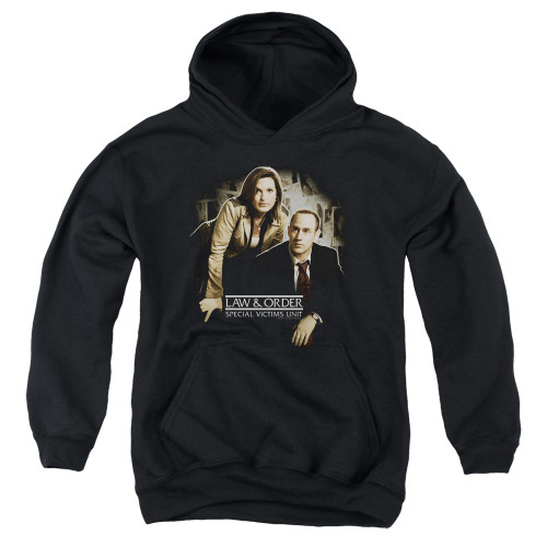Image for Law and Order Youth Hoodie - SVU Helping Victims