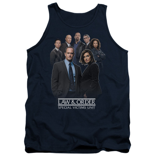 Image for Law and Order Tank Top - SVU Team