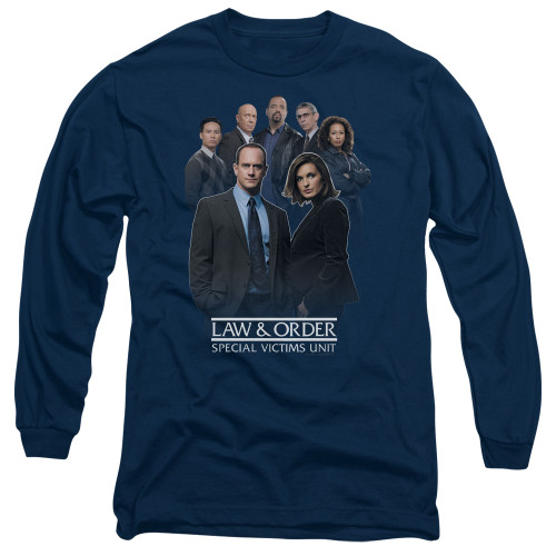 Image for Law and Order Long Sleeve T-Shirt - SVU Team