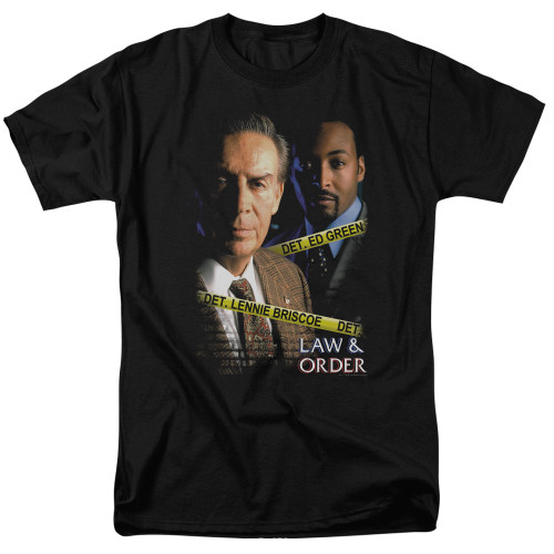 Image for Law and Order T-Shirt - Briscoe and Green