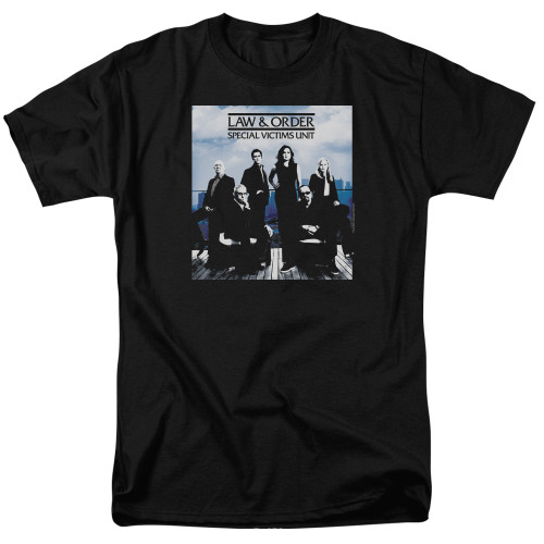 Image for Law and Order T-Shirt - SVU Crew