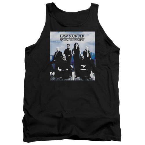 Image for Law and Order Tank Top - SVU Crew