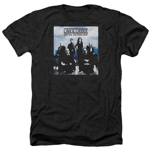 Image for Law and Order Heather T-Shirt - SVU Crew