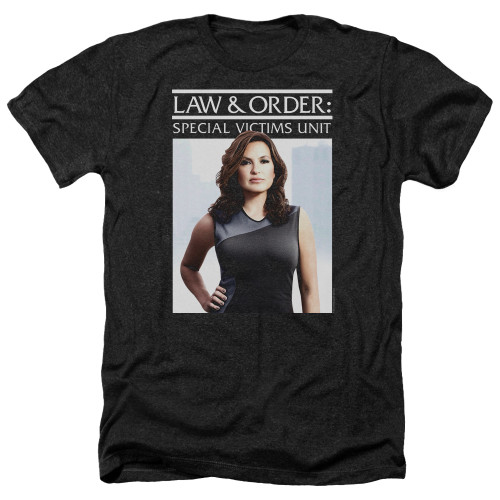 Image for Law and Order Heather T-Shirt - SVU Behind Closed Doors