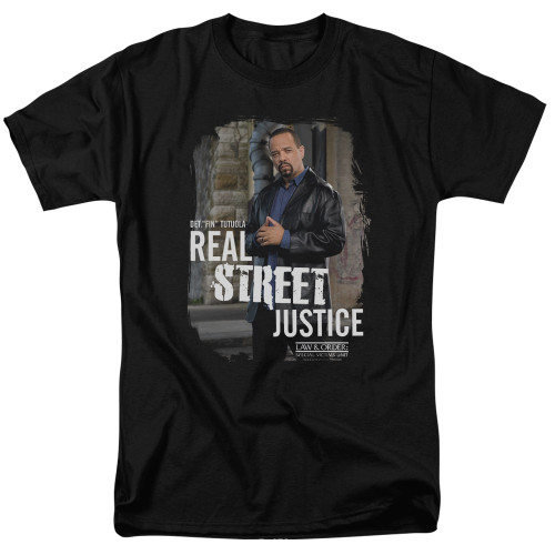 Image for Law and Order T-Shirt - SVU Street Justice