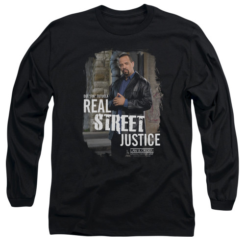 Image for Law and Order Long Sleeve T-Shirt - SVU Street Justice