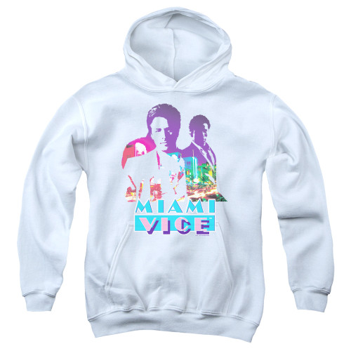 Image for Miami Vice Youth Hoodie - Crockett and Tubbs