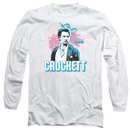 Image for Miami Vice Long Sleeve T-Shirt - Crockett