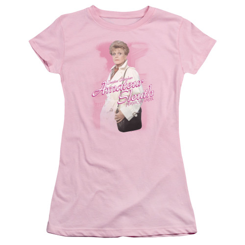 Image for Murder She Wrote Girls T-Shirt - Amateur Sleuth