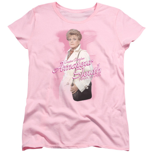 Image for Murder She Wrote Woman's T-Shirt - Amateur Sleuth