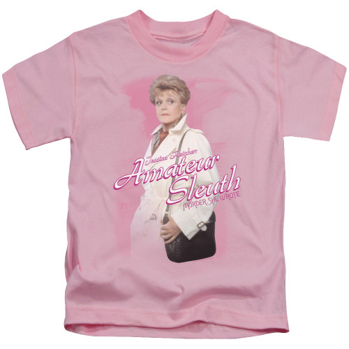 Image for Murder She Wrote Kids T-Shirt - Amateur Sleuth