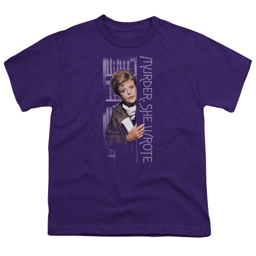 Image for Murder She Wrote Youth T-Shirt - Around the Corner