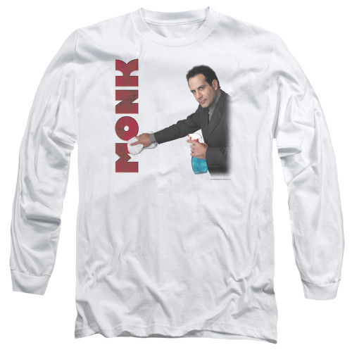 Image for Monk Long Sleeve T-Shirt - Clean Up