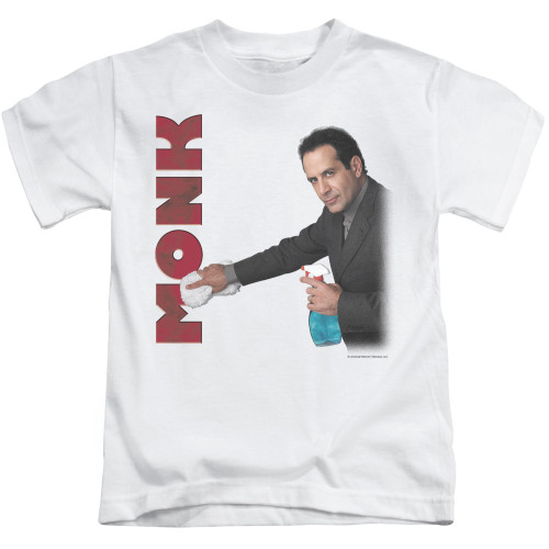 Image for Monk Kids T-Shirt - Clean Up