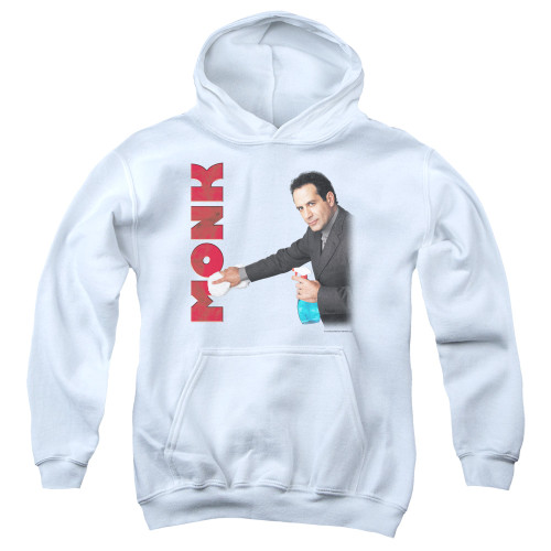 Image for Monk Youth Hoodie - Clean Up