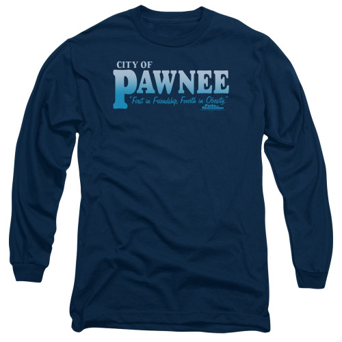 Image for Parks & Rec Long Sleeve T-Shirt - Pawnee