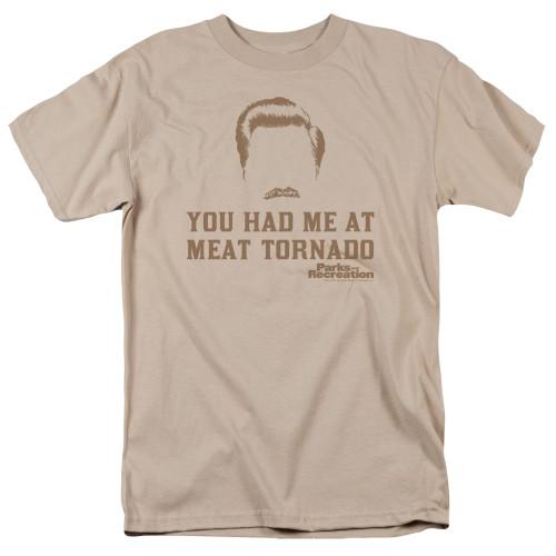 Image for Parks & Rec T-Shirt - Meat Tornado