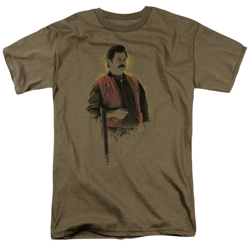 Image for Parks & Rec T-Shirt - To the Hunt